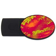 Sky pattern USB Flash Drive Oval (2 GB)