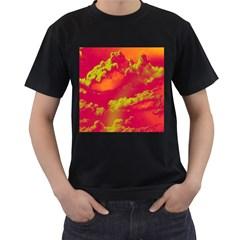 Sky pattern Men s T-Shirt (Black)