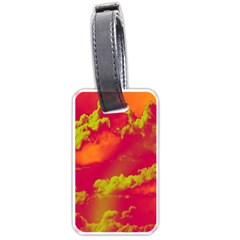 Sky pattern Luggage Tags (Two Sides)
