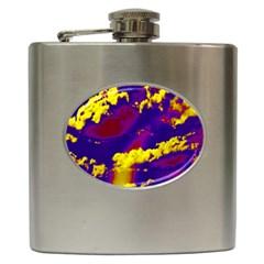 Sky pattern Hip Flask (6 oz)