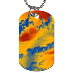 Sky pattern Dog Tag (Two Sides)