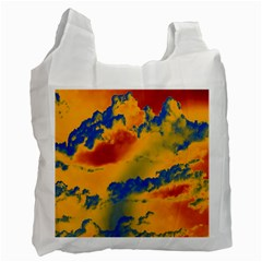 Sky pattern Recycle Bag (Two Side)
