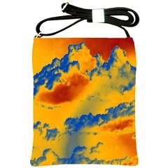 Sky pattern Shoulder Sling Bags