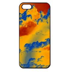 Sky pattern Apple iPhone 5 Seamless Case (Black)