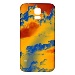 Sky pattern Samsung Galaxy S5 Back Case (White)