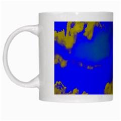 Sky pattern White Mugs