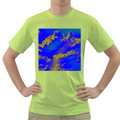 Sky pattern Green T-Shirt