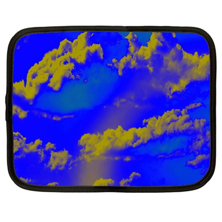 Sky pattern Netbook Case (XXL)
