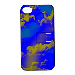 Sky pattern Apple iPhone 4/4S Hardshell Case with Stand