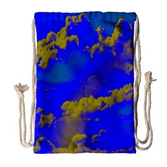 Sky pattern Drawstring Bag (Large)