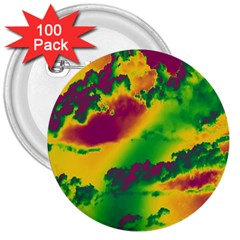 Sky pattern 3  Buttons (100 pack)