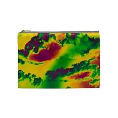 Sky pattern Cosmetic Bag (Medium)