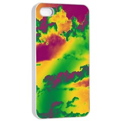 Sky pattern Apple iPhone 4/4s Seamless Case (White)