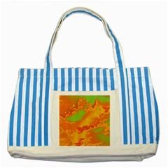 Sky Pattern Striped Blue Tote Bag
