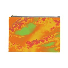 Sky pattern Cosmetic Bag (Large)