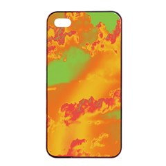 Sky pattern Apple iPhone 4/4s Seamless Case (Black)