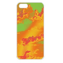 Sky pattern Apple iPhone 5 Seamless Case (White)
