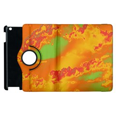 Sky pattern Apple iPad 3/4 Flip 360 Case