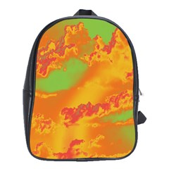 Sky pattern School Bags (XL)