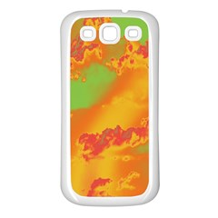 Sky pattern Samsung Galaxy S3 Back Case (White)