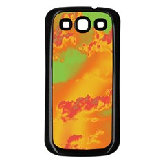 Sky pattern Samsung Galaxy S3 Back Case (Black)