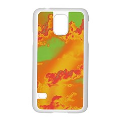 Sky pattern Samsung Galaxy S5 Case (White)