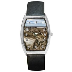 Miradores De Darwin, Santa Cruz Argentina Barrel Style Metal Watch
