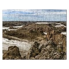 Miradores De Darwin, Santa Cruz Argentina Rectangular Jigsaw Puzzl