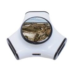 Miradores De Darwin, Santa Cruz Argentina 3-Port USB Hub