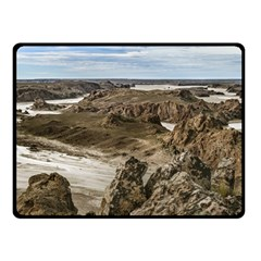 Miradores De Darwin, Santa Cruz Argentina Double Sided Fleece Blanket (Small)