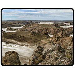 Miradores De Darwin, Santa Cruz Argentina Double Sided Fleece Blanket (Medium)