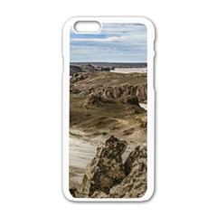 Miradores De Darwin, Santa Cruz Argentina Apple iPhone 6/6S White Enamel Case