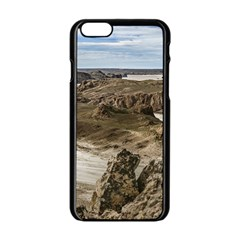 Miradores De Darwin, Santa Cruz Argentina Apple iPhone 6/6S Black Enamel Case
