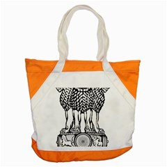 National Emblem of India  Accent Tote Bag