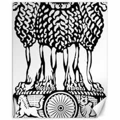 National Emblem of India  Canvas 16  x 20