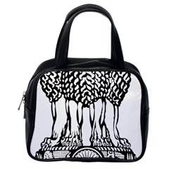 National Emblem of India  Classic Handbags (One Side)