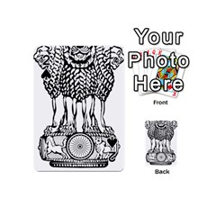 National Emblem of India  Playing Cards 54 (Mini)