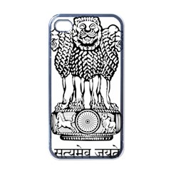 National Emblem of India  Apple iPhone 4 Case (Black)