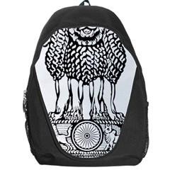 National Emblem of India  Backpack Bag