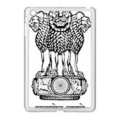 National Emblem of India  Apple iPad Mini Case (White)