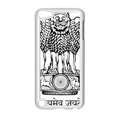 National Emblem of India  Apple iPod Touch 5 Case (White)
