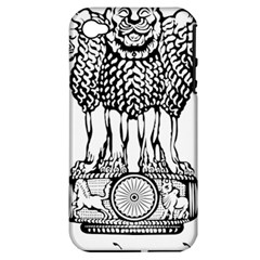 National Emblem of India  Apple iPhone 4/4S Hardshell Case (PC+Silicone)