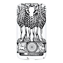 National Emblem of India  Samsung Galaxy S4 I9500/I9505 Hardshell Case