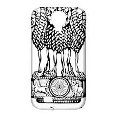 National Emblem of India  Samsung Galaxy S4 Classic Hardshell Case (PC+Silicone)