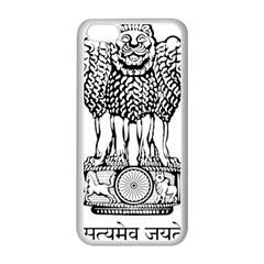 National Emblem of India  Apple iPhone 5C Seamless Case (White)