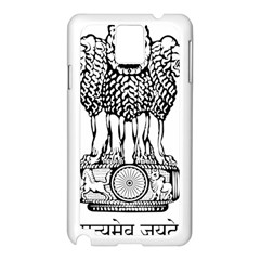 National Emblem of India  Samsung Galaxy Note 3 N9005 Case (White)