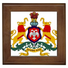 State Seal of Karnataka Framed Tiles
