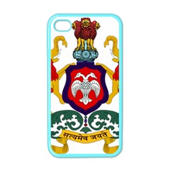 State Seal of Karnataka Apple iPhone 4 Case (Color)