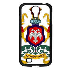 State Seal of Karnataka Samsung Galaxy S4 I9500/ I9505 Case (Black)