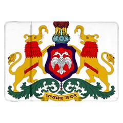 State Seal of Karnataka Samsung Galaxy Tab 8.9  P7300 Flip Case